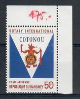 DAHOMEY 1969   - ROTARY -    MNH ** - Rotary, Lions Club