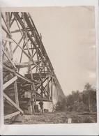 BUILDING BRIDGES   25*20CM Fonds Victor FORBIN 1864-1947 - Profesiones
