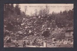 Vente Immediate Senones (88) Roches Margot - Carriere De Granit ( Animée Carriers Pierre C.L.B.) - Senones