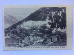 ITALY - La Thuile - Village De La Golettaz Et Vue Sur Le Glacier Du Rutor 1926 - Italy