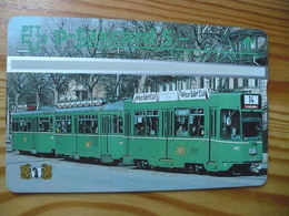 Phonecard Switzerland, Privat - Tram, Railway - Suisse