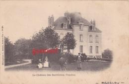 85 - Le Château Des Barrillères Par Ardelay  (rare Cpa), - France