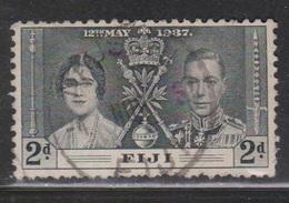 FIJI Scott # 115 Used - KGVI Coronation - Fiji (...-1970)