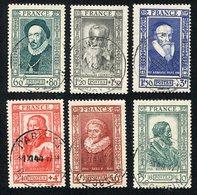 France N°587/92 Oblitéré, Qualité Superbe - Used Stamps
