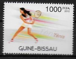 GUINEE BISSAU  N° 4272  * * Jo 2012  Tennis - Tennis