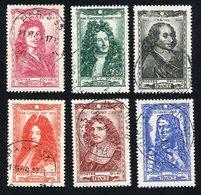 France N°612/7 Oblitéré, Qualité Superbe - Used Stamps