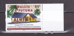 WALLIS ET FUITUNA 2019 ACADEMIE DES LANGUES MNH** - Wallis-Et-Futuna