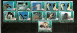 FAUNE ANTARCTIQUE De La Base ROSS .  11 Timbres Neufs **  Année 1994. Côte 20 Euro - Antarctic Wildlife