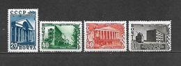 1950 - N. 1458/61* (CATALOGO UNIFICATO) - 1923-1991 URSS