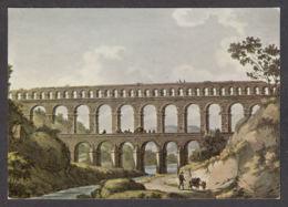 83433/ PONT DU GARD, Aqueduc Romain, Gravure De Cornelis Apostool, 1794 - Francia