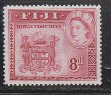 FIJI Scott # 146 MH - QEII Royal Visit 1953 - Fiji (...-1970)