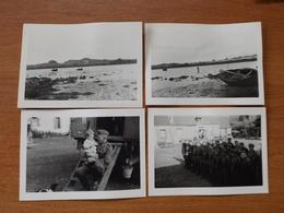 WW2 GUERRE 39 45 PORSPODER MELON SOLDATS ALLEMANDS COTES BARQUES FERME ENFANT    6ème Compagnie Du 471 ° Régiment - France