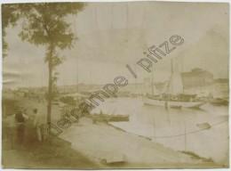 Calvados . Port De Ouistreham . Bateaux . Voilier . Citrate 1900-10 . - Lieux