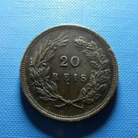 Portugal 20 Reis 1892 - Portugal