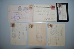 Belgique 1916? Fragments Lettres - Other