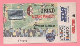 Biglietto D'ingresso Torino Alzano Virescit - Biglietti D'ingresso