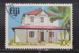 FIJI Scott # 414 Used - Fiji Visitors Bureau Building - Fiji (...-1970)