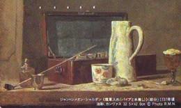 Télécarte Japon  * PEINTURE FRANCE * ART  (2254)  * Japan * Phonecard * KUNST TELEFONKARTE - Painting