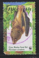 FIJI Scott # 798 Used - Monkey-Faced Bat - Fiji (...-1970)
