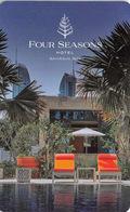 FOUR SEASONS Bahrain Bay - Hotel Room Key Card, Hotelkarte, Schlüsselkarte, Clé De L'Hôtel - Hotelkarten