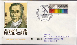 Germany Used FDC From 1987 - Physics