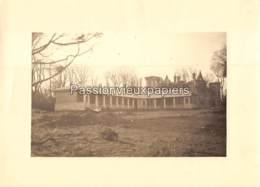 PHOTO   ROYAN PAVILLON D'ECOLE RECONSTRUIT (PERPIGNA) CHATEAU En RUINES APRES GUERRE (Années 40 Début 50 ?)  (1) - Royan