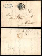 ANTICHI STATI ITALIANI - Lombardo Veneto - 45 Cent (11) Su Lettera Da Milano A Modena Del 25.7.53 (450) - Timbres