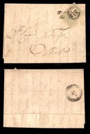 ANTICHI STATI ITALIANI - Lombardo Veneto - Marche Da Bollo - 15 Cent (7) Su Lettera Da Conegliano (P.ti 8) A Mestre Del  - Timbres