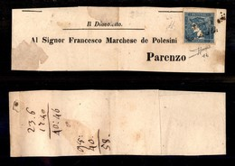 ANTICHI STATI ITALIANI - Lombardo Veneto - Territori Italiani D'Austria - Per Giornali - 0.6 Kreuzer Mercurio (3) Su Int - Stamps