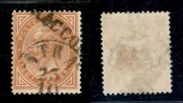 ANTICHI STATI ITALIANI - Lombardo Veneto - Strà (P.ti 9) + Raccom (non Catalogato) Su 10 Cent De La Rue (L17 - Regno) - Stamps
