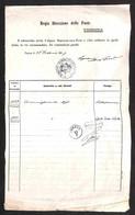 ANTICHI STATI ITALIANI - Lombardo Veneto - Veneto Liberato - Verona 28 Febbraio (1867) + RACCOMANDATA (in Cartella - Non - Stamps