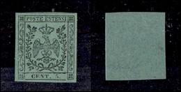 ANTICHI STATI ITALIANI - Modena - 1852 - 5 Cent (7) - Gomma Integra - Molto Bello - G. Bolaffi (160+) - Timbres