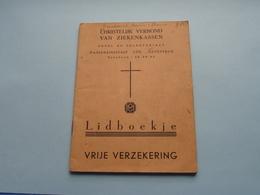 CHRISTELIJK VERBOND Van ZIEKENKASSEN Antwerpen > Lidboekje () Anno 1959 - 65 ( Zie / See / Voir Photo ) ! - Belgique