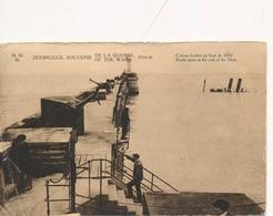 CPA - Belgique - Zeebrugge - Canons Boches Au Bout Du Môle - Zeebrugge