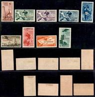 COLONIE - Egeo - Emissioni Generali - 1934 - Calcio (75/79 + Aerea 34/37) - Emissione Completa (1.040) - Unclassified