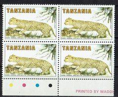 Tansania 1985 // Mi. 259 ** 4er - Tansania (1964-...)