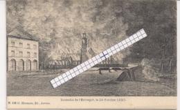 "ANTWERPEN-ANVERS""INCENDIE DE L'ENTREPOT LE 28 OCTOBRE 1830""UITG.HERMANS NR.110 - Antwerpen"
