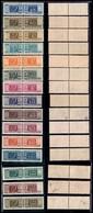 REPUBBLICA - 1946/1951 - Pacchi Postali (66/80) - Serie Completa - Gomma Integra - Cert Ray (2175) - Unclassified
