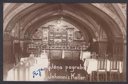 CPA -  Latvia,  RIGA, Jana Pagrabs,  Johannis Keller, Restaurant - Lettonia