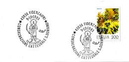 ITALIA - 1983 FIDENZA (PR) Cent. Consacrazione Cattedrale, Martirio Di S. DONNINO - 1^ Mostra Fil. Su Frammento Di Busta - Cristianesimo
