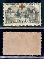 FRANCIA - 1918 - 15 Cent + 5 Croce Rossa (136) - Gomma Integra - Diena (200++) - Francobolli