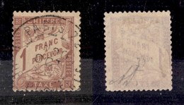 FRANCIA - 1896 - 1 Franco (34x) Usato - Diena - Francobolli