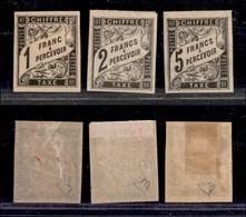 FRANCIA - Colonie - 1885 - Non Emessi (I/III) - Diena (850) - Francobolli