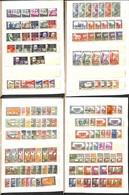 FRANCIA - Colonie - 1935/1945 - Collezione Di Valori Del Periodo In Piccolo Raccoglietore - In Maggior Parte Comma Integ - Francobolli