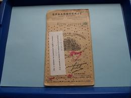 SPAARBOEKJE - Livret D'Epargne A.S.L.K. ( Verdonck Magda Burcht / Antwerpen) Anno 1949 - 63 ( Zie / See / Voir Photo ) ! - Belgique