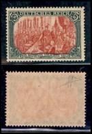 GERMANIA - Regno - 1902 - 5 Marchi (81Ab) - Gomma Integra - Cert Diena (1400) - Francobolli