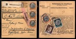 GERMANIA - Bollettino Da Grafrath A Ingweiler Del 21.8.42 - Francobolli