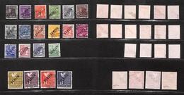 GERMANIA - Berlino - 1948 - Zona A.I.S. (1/20) - Serie Completa Usata (2.400) - Francobolli
