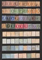 GRECIA - 1861/1880 + 1900 - Prime Emissioni - Collezioncina Studio - 36 Valori Delle Diverse Tirature (35 Usati) - Quali - Francobolli