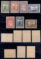 GRECIA - 1933 - Posta Aerea (362/368) - Serie Completa - Gomma Integra (300) - Francobolli